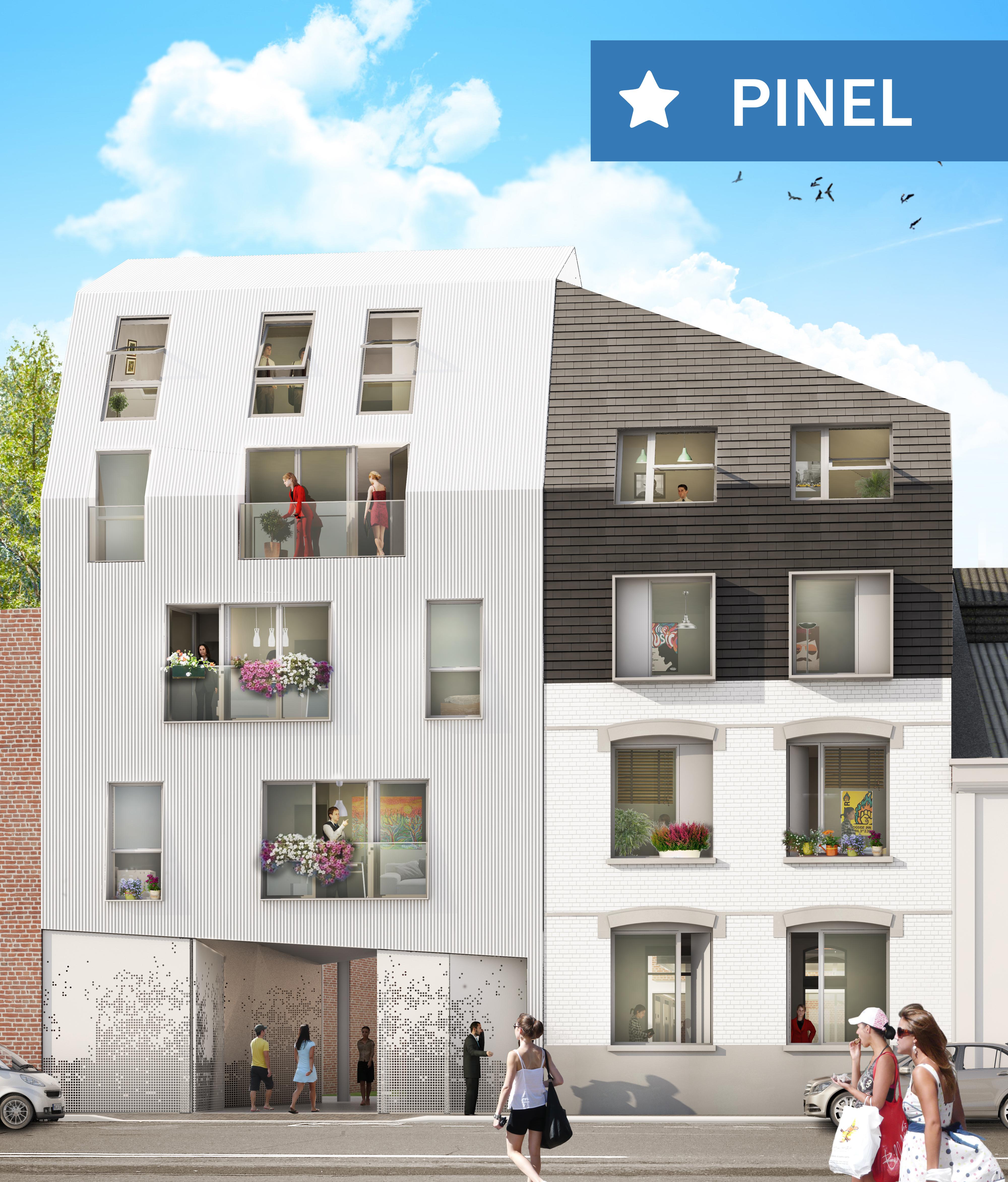 Appartement studio à vendre - 23m2 - Lille J.B Lebas Image
