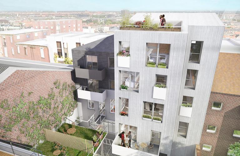 A vendre Lille, proximité autoroute, proche grands axes, parking gratuit, centre ville