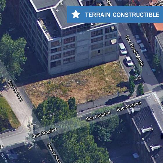 Terrain constructible à vendre - 523 m2 - Roubaix Image