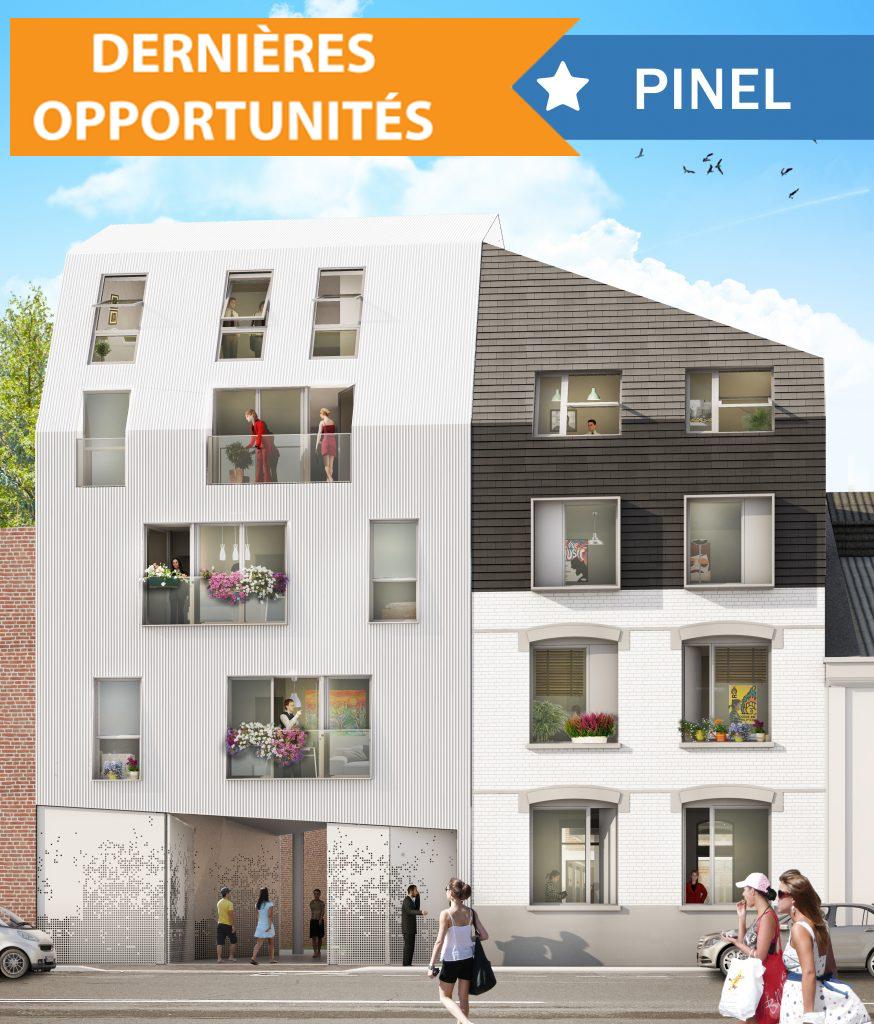 Appartement T4 à vendre - 91 m2 - Balcon - Lille J.B Lebas Image