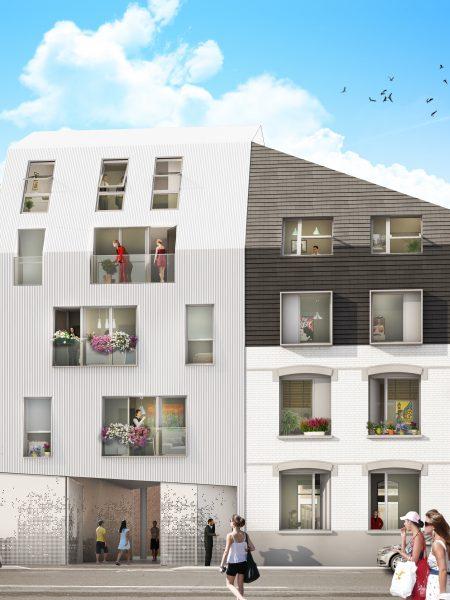 rénovation immobilière lille porte d'arras proche axes autoroutiers